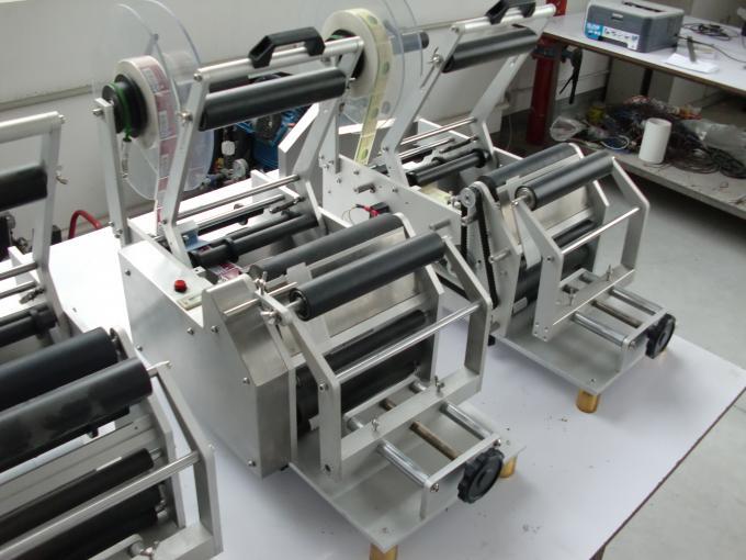 Etichettatrice automatica per bottiglie rotonde con adesivo autoadesivo 220V