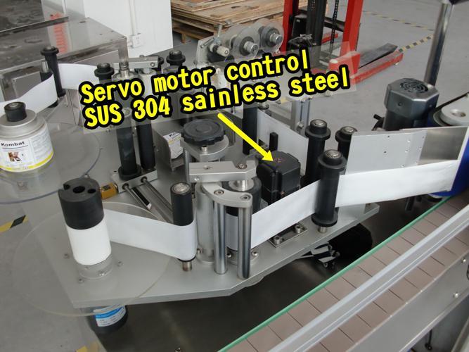 Etichettatrice automatica con adesivo autoadesivo da 10 ml piccola bottiglia rotonda etichettatura automatica solo orizzontale