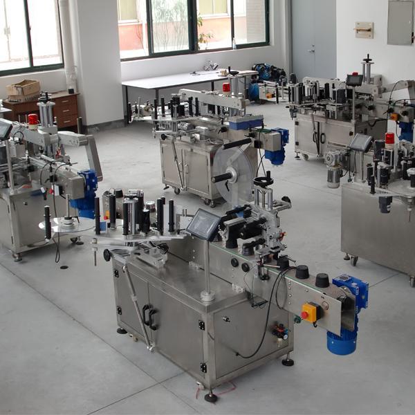 Certificazione CE per etichettatrice automatica a doppio adesivo ad alta precisione