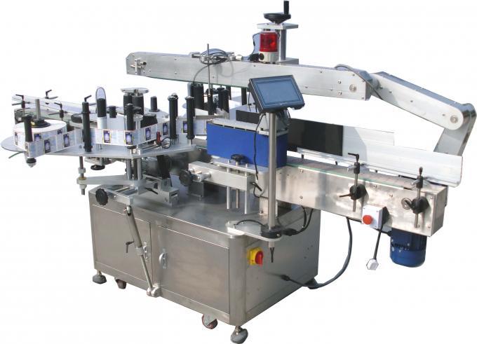Etichettatrice automatica dell'autoadesivo del doppio lato 220V 3.5Kw 60-350Pcs / Min