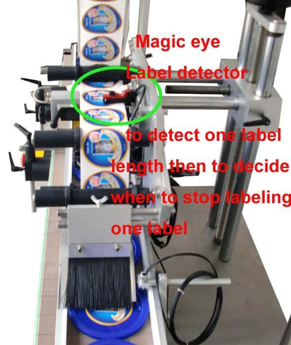 Adesivo autoadesivo personalizzato applicatore di etichette a superficie piatta poli sacchetto CE