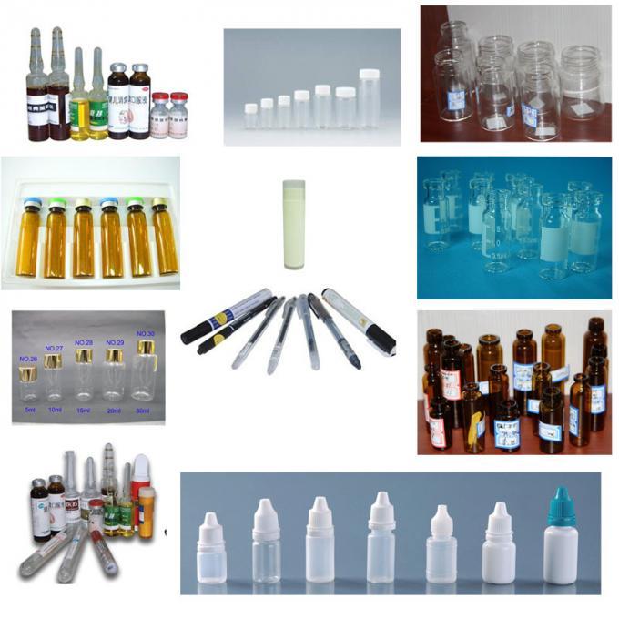 Etichettatura automatica delle bottiglie di birra della macchina dell'applicatore di etichette automatico personalizzata da 20-200 pezzi al minuto