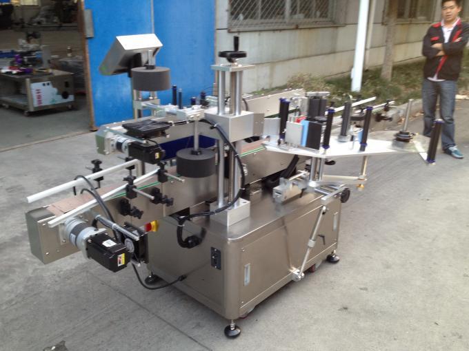 Funzionamento facile del motore dell'applicatore 1.0KW dell'etichetta della superficie piana della colla fredda della bottiglia rotonda