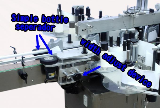 Eccellente etichettatrice automatica per adesivo doppio lato bottiglia di detersivo