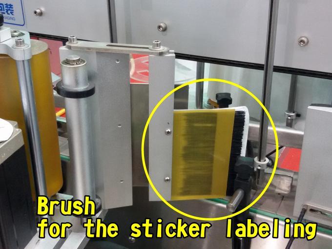 Etichettatrice automatica a superficie piana per alta velocità della fabbrica di borse 60 - 350 pezzi / min