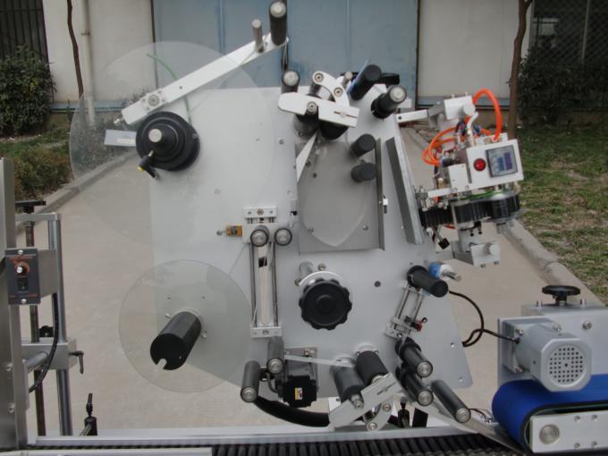 Etichettatrice per fiale di marca HY del motore del trasportatore, settima macchina per etichette adesive per batteria per elettronica