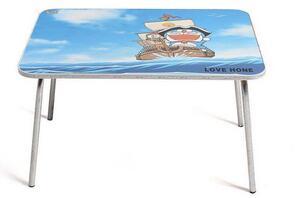 Applicatore di etichette per superficie piana con adesivo autoadesivo da tavolo con cercapersone che alimenta oggetti