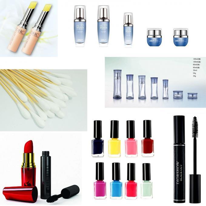 Macchina automatica dell'autoadesivo dell'etichetta dello smalto per unghie dell'etichettatrice della fiala per i cosmetici