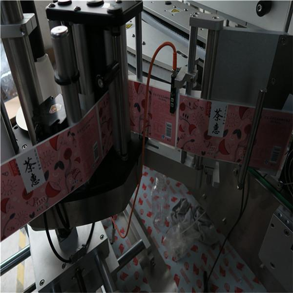 Etichettatrice per bottiglie piatte multifunzione ad alta precisione con azionamento elettrico
