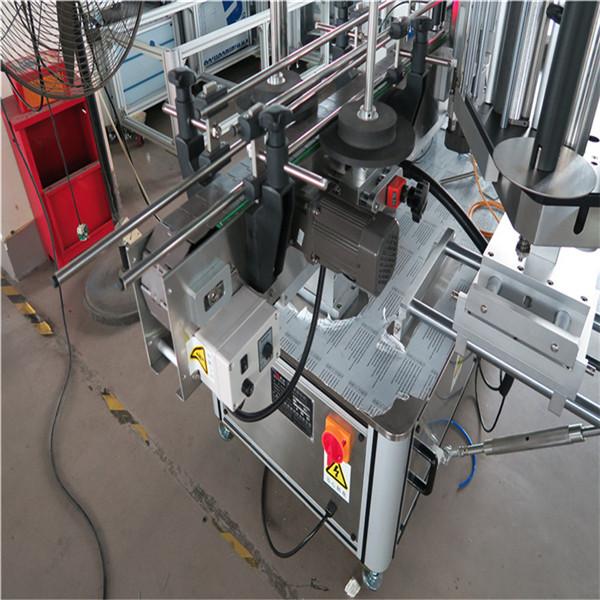 Etichettatrice per bottiglie rotonde di potenza 1500W per bevande / alimenti / prodotti chimici