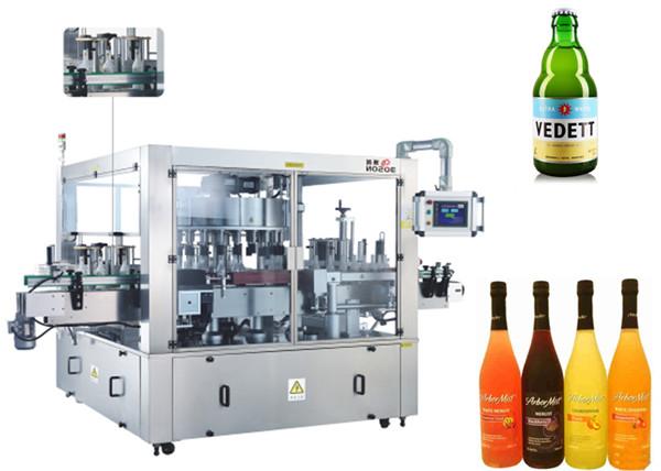 Tre facce posizione macchina automatica del sistema rotativo dell'etichettatrice dell'autoadesivo dell'etichetta