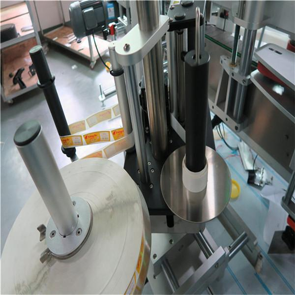 Etichettatrice autoadesiva, etichettatrice verticale lineare a quattro etichette adesive