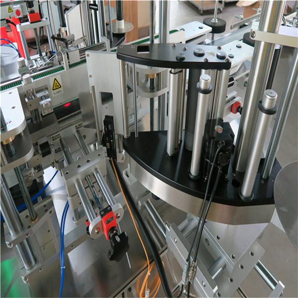 Etichettatrice per adesivi per bottiglie cosmetiche per shampoo Lunghezza contenitore 30-100 mm