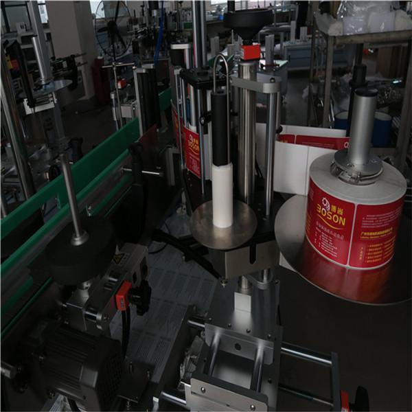 Applicatore per etichettatrice per bottiglie ovali su un lato, etichettatrice per adesivi autoadesivi