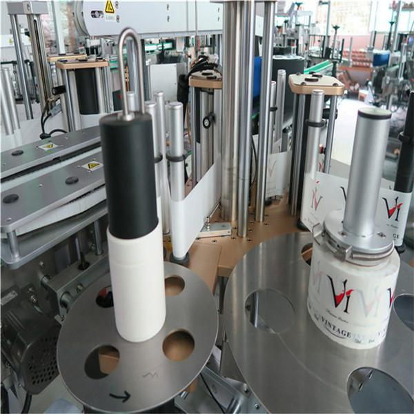 Etichettatrice automatica adesiva adesiva, macchina etichettatrice automatica per Bevarage / bevande
