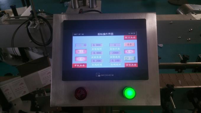 Etichettatrice automatica per bottiglie di vetro per bottiglie piatte, etichettatrice adesiva
