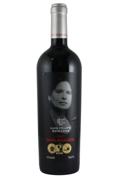 Applicatore di etichette per bottiglie di vino Luis Felipe Edwards etichettatrice biadesiva