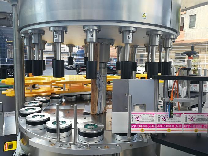 Etichettatrice adesiva rotativa ad alta velocità con funzione di rotazione