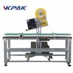 Applicatore di etichette industriali per buste automatiche per scatola di carta di produzione su piccola scala