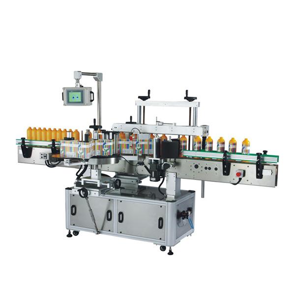 Etichettatrice automatica per bottiglie per farmaci alimentari, cosmetici, bottiglie di plastica di vetro