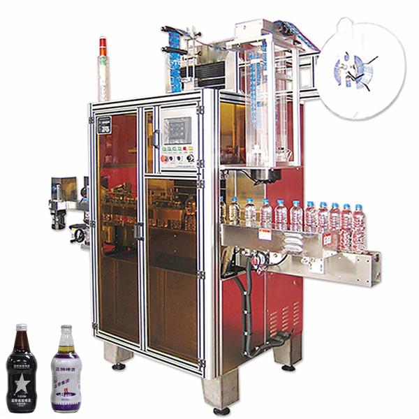 Macchina per etichette termoretraibile per bevande in bottiglia, applicatore per etichette termoretraibile
