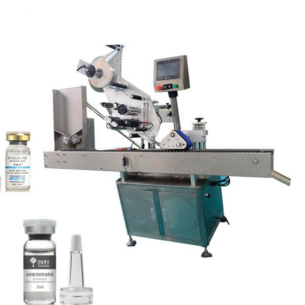 Etichettatrice automatica per fiale a doppio lato ad alta precisione economica