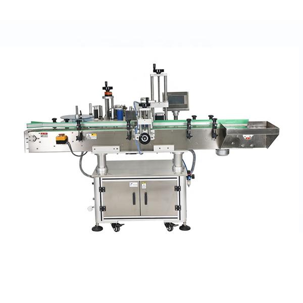 Etichettatrice automatica con doppio adesivo laterale con controllo PLC intelligente