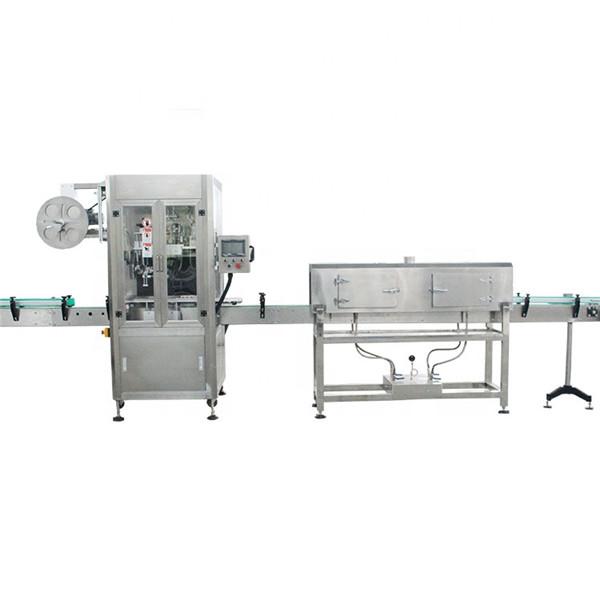 Etichettatrice per manicotti termoretraibili ad alta velocità con tazza di plastica con generatore di vapore