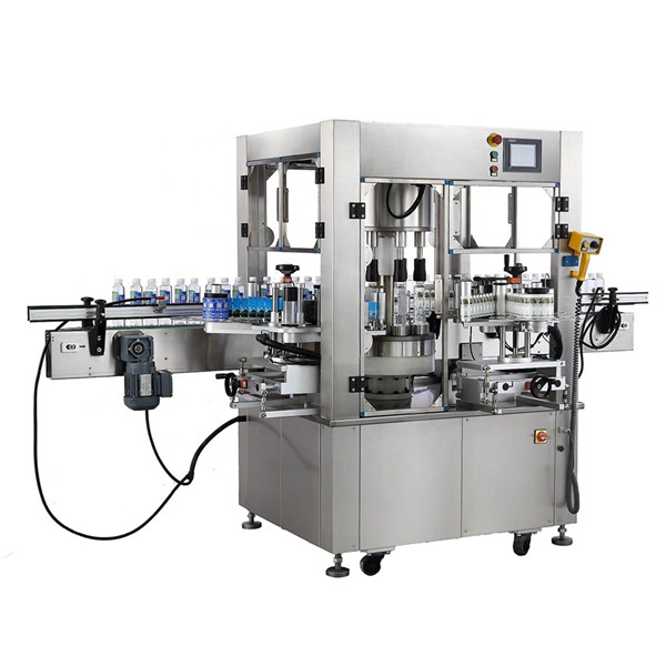 Spessore dell'attrezzatura dell'etichettatrice dell'autoadesivo rotatorio della bottiglia rotonda