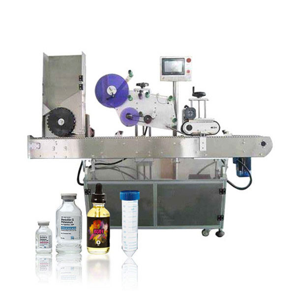 Etichettatrice orizzontale automatica con servocontrollore per fiale Siemens Plc