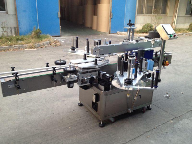 Cina Applicatore automatico di adesivi per bottiglie pressurizzate, fornitore di etichettatrici automatiche da 550 kg