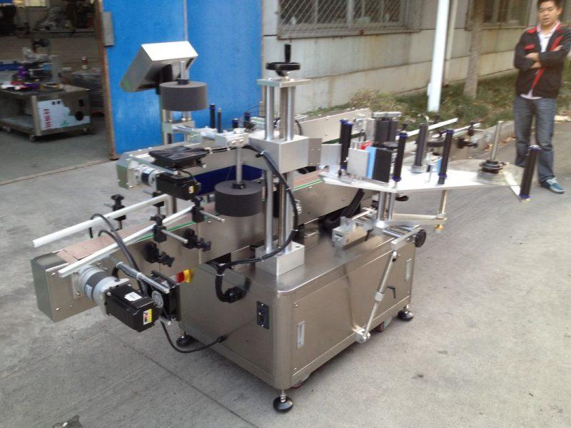 Macchina automatica dell'applicatore dell'autoadesivo della bottiglia della Cina Opp per il fornitore della colla calda della colata ad alta velocità