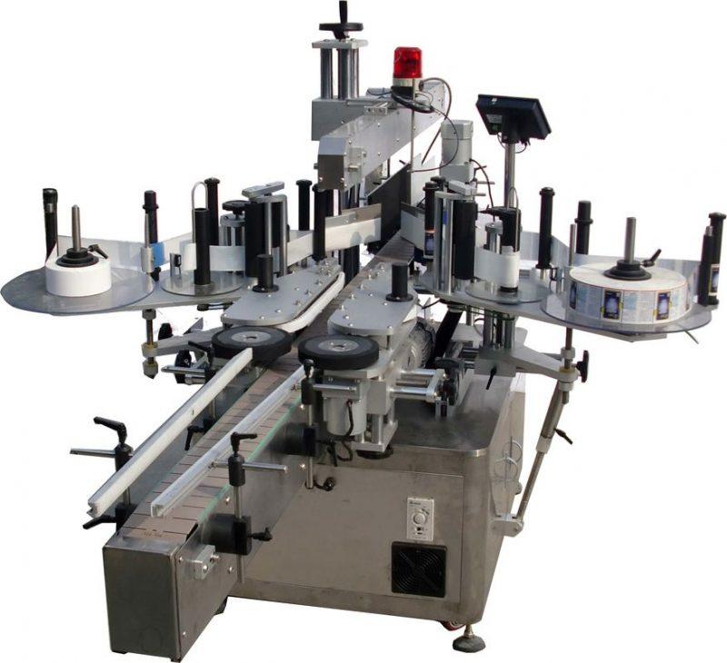 Etichettatrice automatica a superficie piana della Cina per la fabbrica di borse ad alta velocità 60 - 350 pezzi / fornitore min