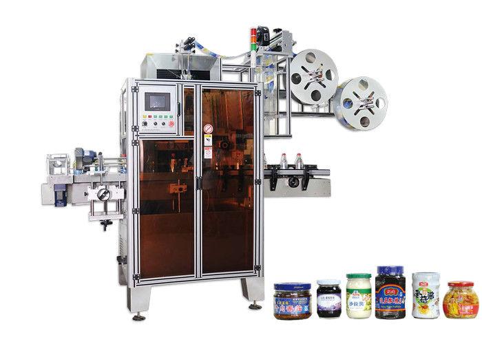 Alta efficienza dell'etichettatrice automatica della manica degli strizzacervelli dell'ANIMALE DOMESTICO della Cina per il fornitore dei colli di bottiglia