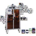 Alta efficienza dell'etichettatrice automatica della manica degli strizzacervelli dell'ANIMALE DOMESTICO per i colli di bottiglia