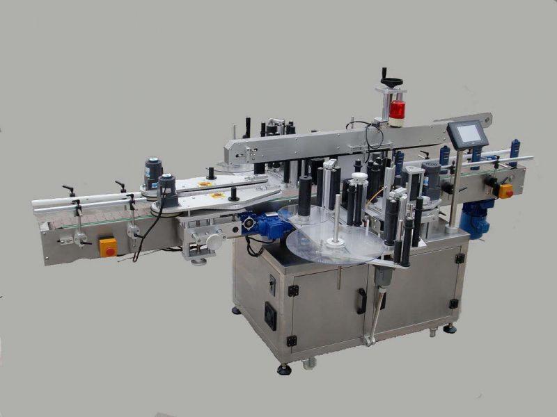 Etichettatrice automatica dell'autoadesivo laterale di Doubel dell'etichetta della Cina con il dispositivo di paging e il fornitore della macchina di codifica