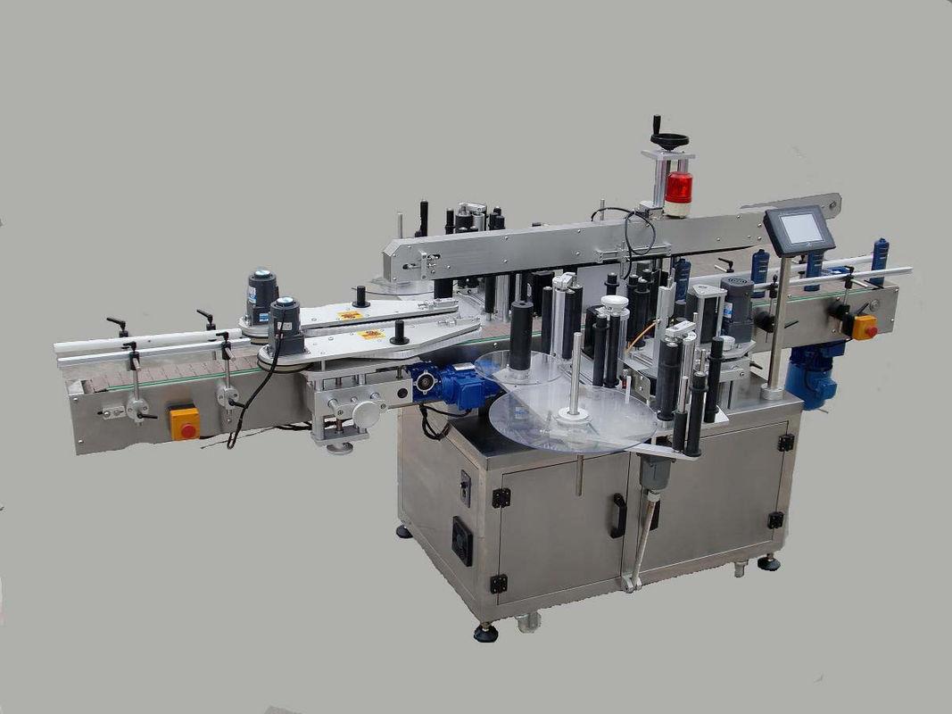 Etichettatrice automatica con doppio adesivo laterale con dispositivo cercapersone e codificatore
