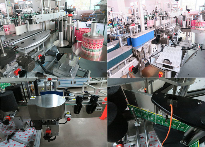 Etichettatrice anteriore e posteriore per bottiglie giornaliere, etichettatrice per barattoli
