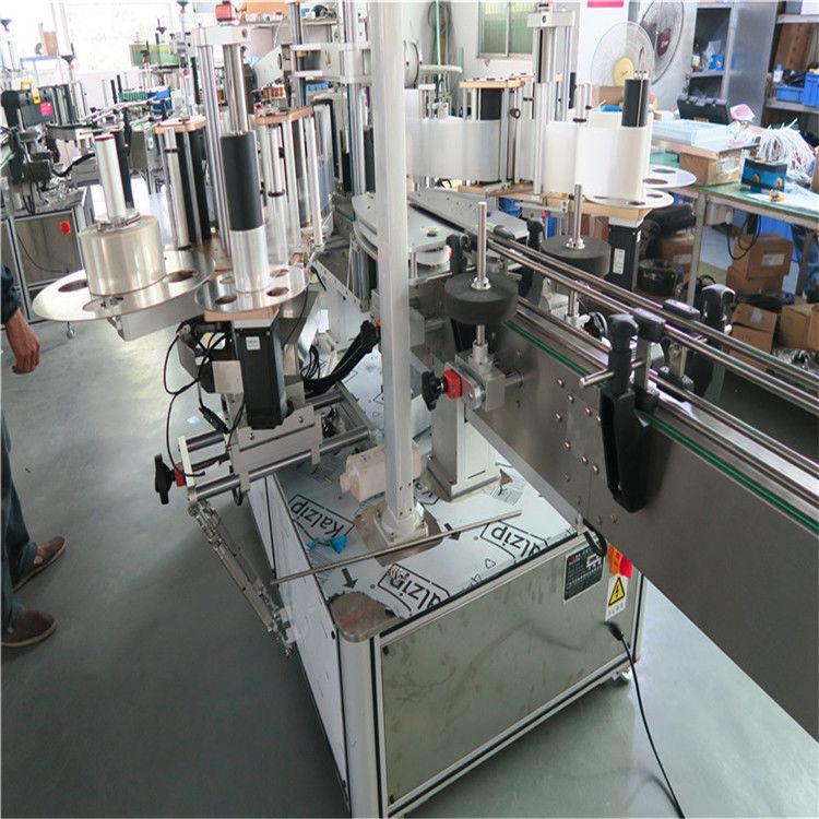 Cina etichettatrice singola ad alta velocità in plastica Buket, fornitore di etichettatrici su due lati
