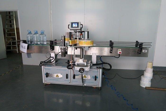 Etichettatrice adesiva per bottiglie rotonde per acqua potabile 5L Cina, fornitore di macchine per attaccare etichette autoadesive