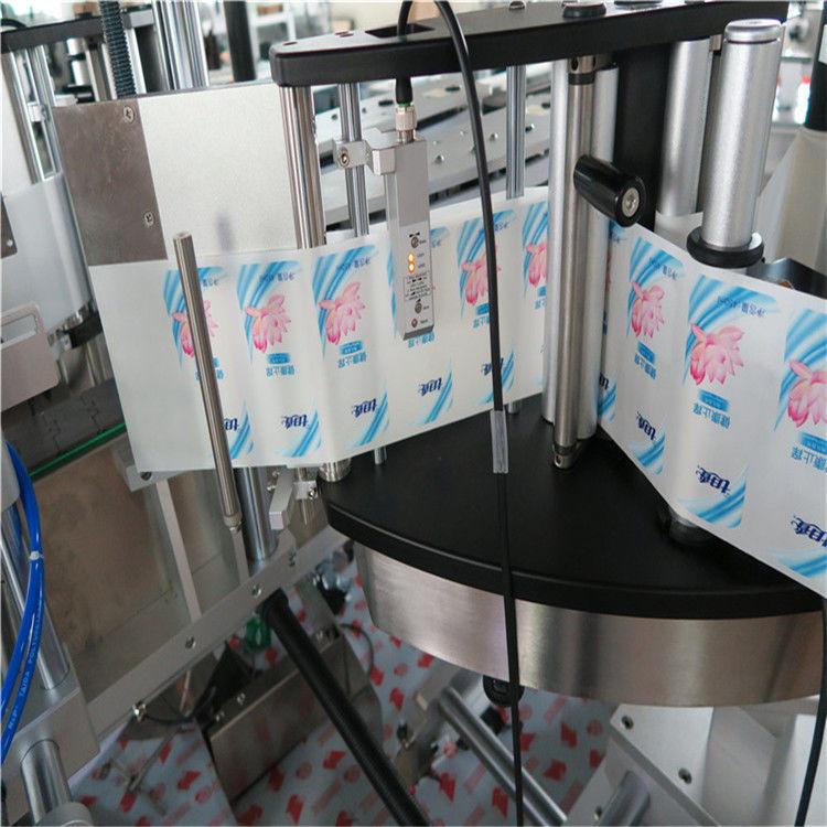 Fornitore della Cina etichettatrice automatica dell'autoadesivo dell'etichettatrice della bottiglia rotonda di esagono laterale singolo / doppio