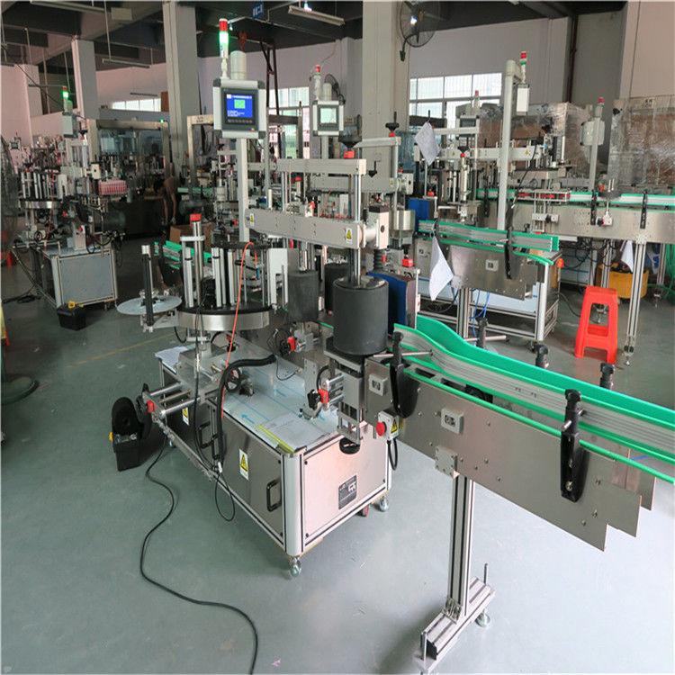 Cina Etichettatrice per bottiglie tonde in pet, fornitore di etichettatrici autoadesive per applicatori di etichette automatiche