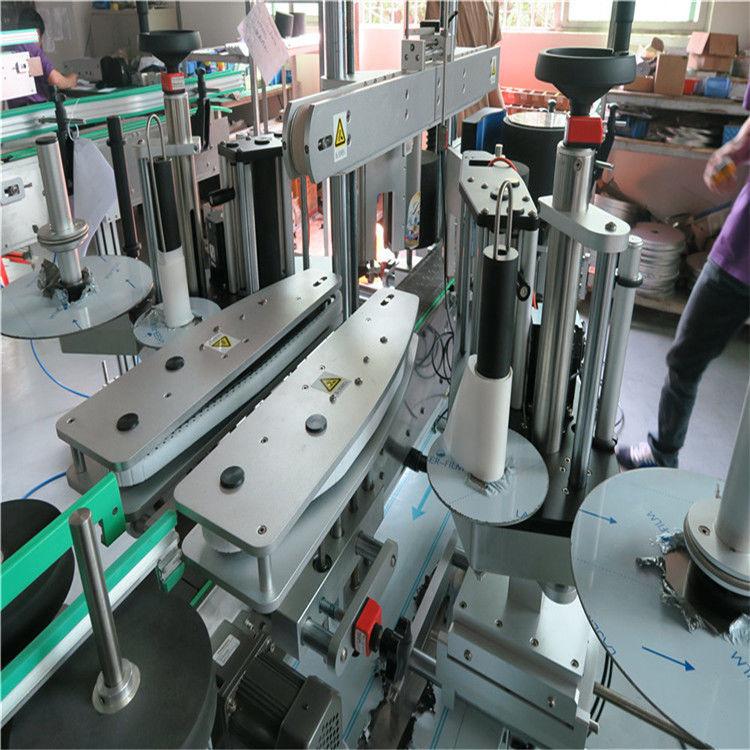 Cina etichettatrice automatica completa dell'autoadesivo, fornitore di etichettatrice anteriore e posteriore della bottiglia d'acqua