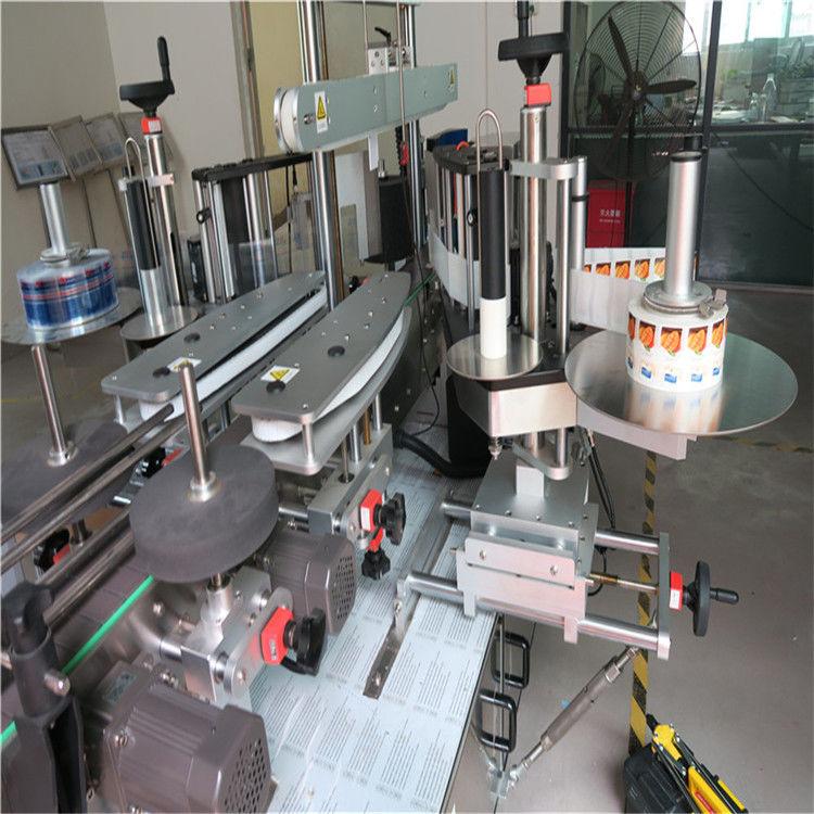 Cina Applicatore di etichette adesive, fornitore di etichettatrici per bottiglie rotonde laterali singole / doppie