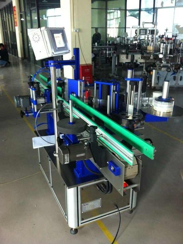 Etichettatrice per bottiglie rotonde di potenza 1500W per fornitore di bevande / alimenti / prodotti chimici