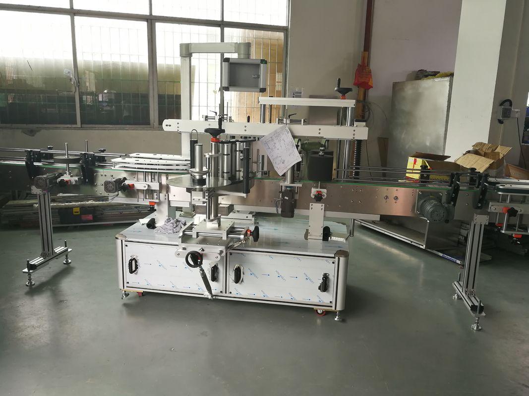 Etichettatrice automatica dell'autoadesivo della bottiglia di vino / del succo, macchina automatica dell'etichettatrice