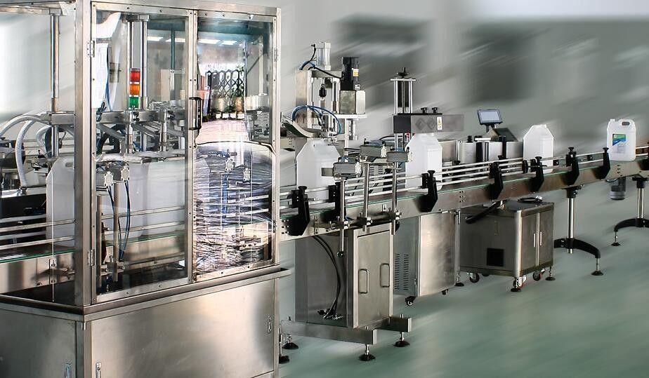 Applicatore di etichette adesive a doppio lato ad alta velocità per bottiglie rotonde / quadrate / piatte