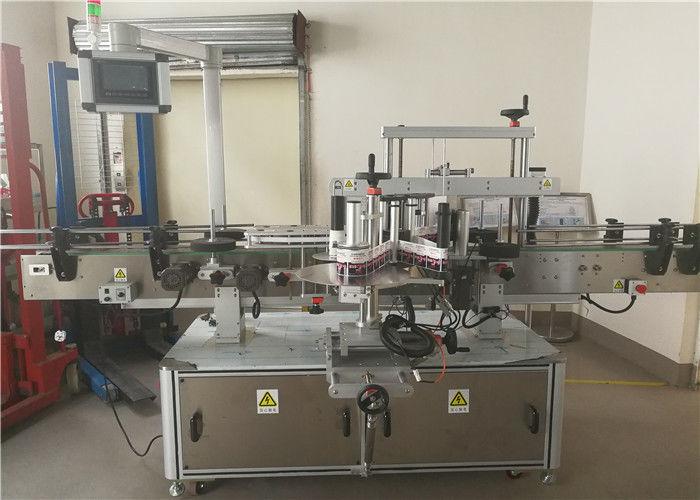 Cina Etichettatrice per adesivi a doppio lato anteriore e posteriore a 2 teste per fornitore di bottiglie ovali