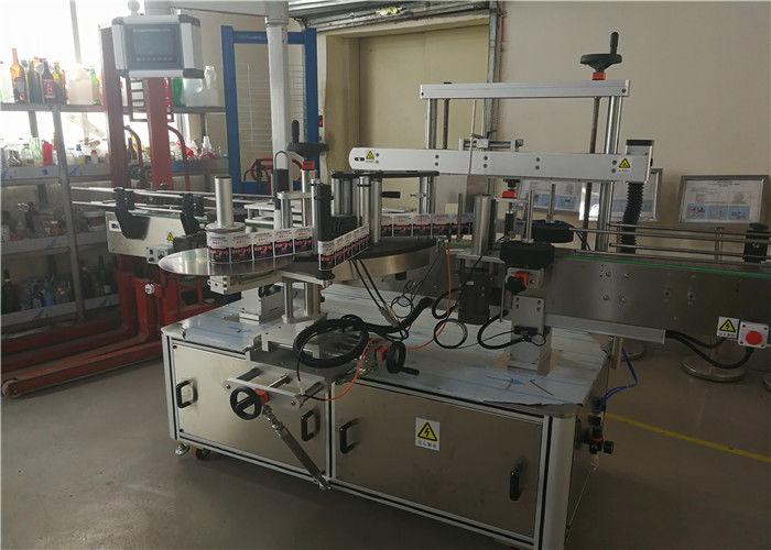 Cina Etichettatrice per bottiglie ovale a due teste per bottiglia ovale nell'industria chimica fornitore