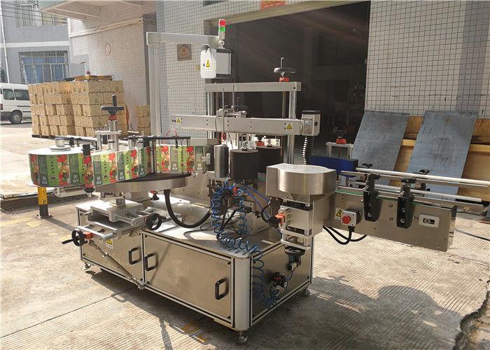 Etichettatrice per bottiglie piatte in Cina 3048 mm x 1700 mm x 1600 mm Esterno del fornitore di attrezzature
